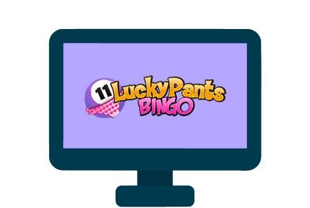 Lucky Pants Bingo Casino - casino review