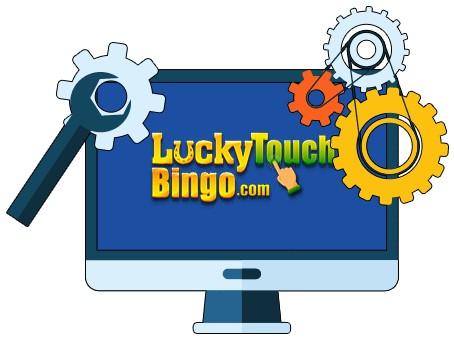Lucky Touch Bingo - Software