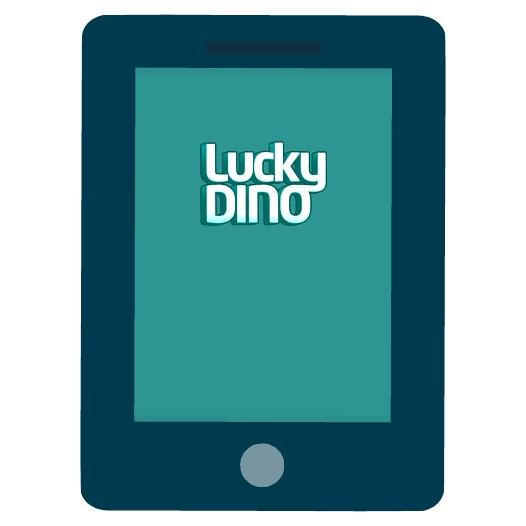LuckyDino Casino - Mobile friendly