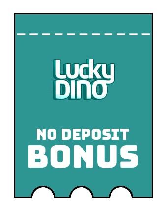 LuckyDino Casino - no deposit bonus CR