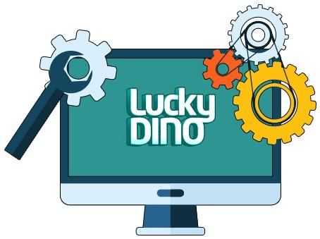 LuckyDino Casino - Software
