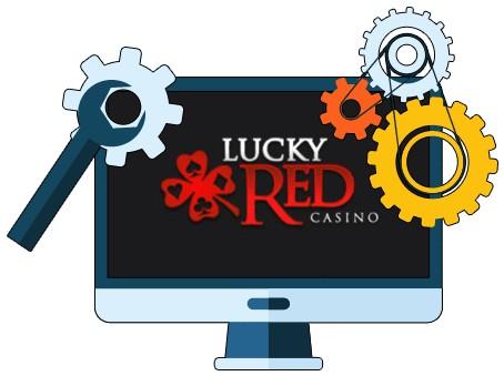 LuckyRed Casino - Software