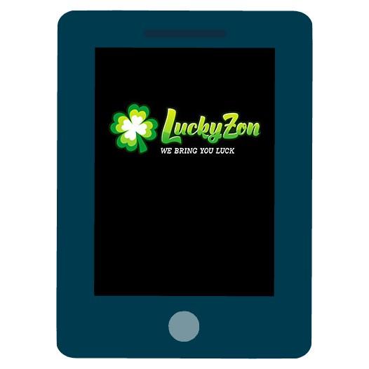 LuckyZon - Mobile friendly