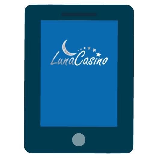 Luna Casino - Mobile friendly