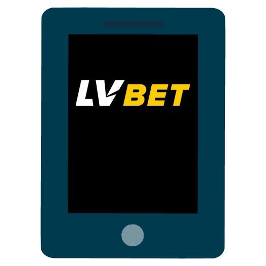 LVbet Casino - Mobile friendly