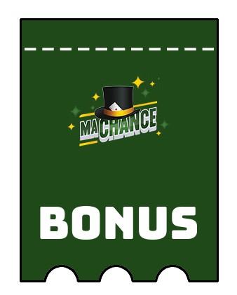 Latest bonus spins from MaChance