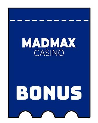 Latest bonus spins from MadMax Casino