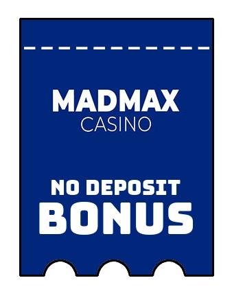 MadMax Casino - no deposit bonus CR
