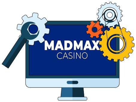 MadMax Casino - Software