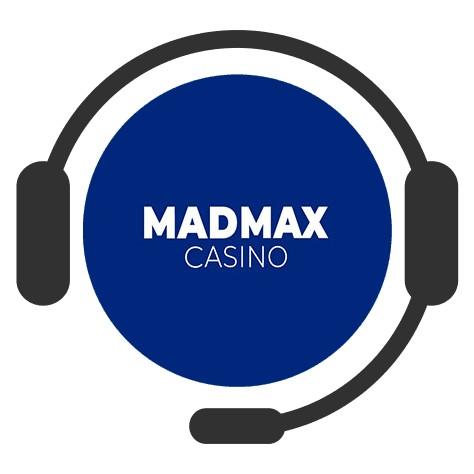 MadMax Casino - Support