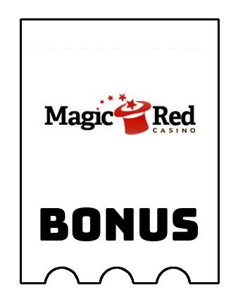 Latest bonus spins from Magic Red Casino