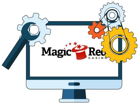 Magic Red Casino - Software