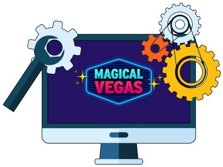 Magical Vegas Casino - Software