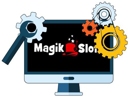 Magik Slots Casino - Software