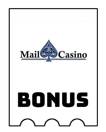 Latest bonus spins from Mail Casino