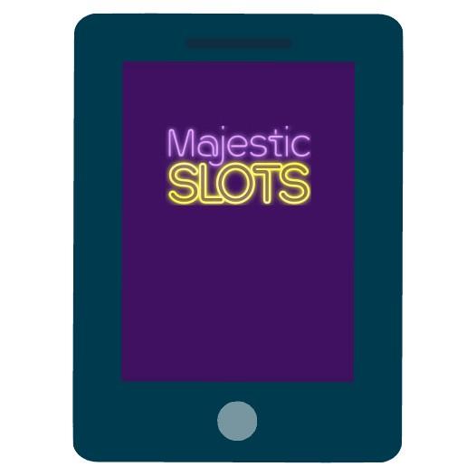 Majestic Slots - Mobile friendly