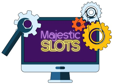 Majestic Slots - Software