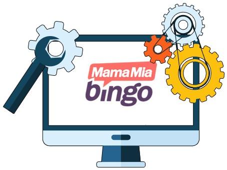 MamaMia Bingo Casino - Software