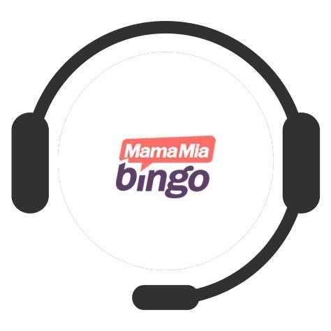 MamaMia Bingo Casino - Support
