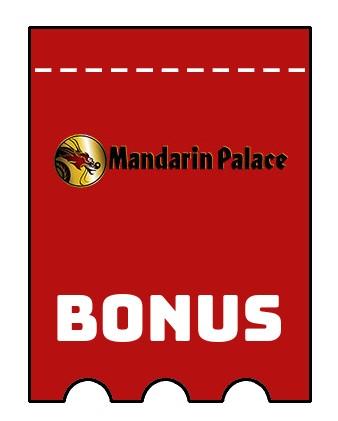 Latest bonus spins from Mandarin Palace Casino