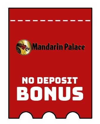 Mandarin Palace Casino - no deposit bonus CR