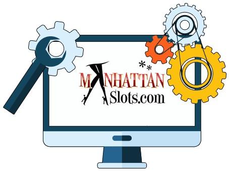 Manhattan Slots Casino - Software