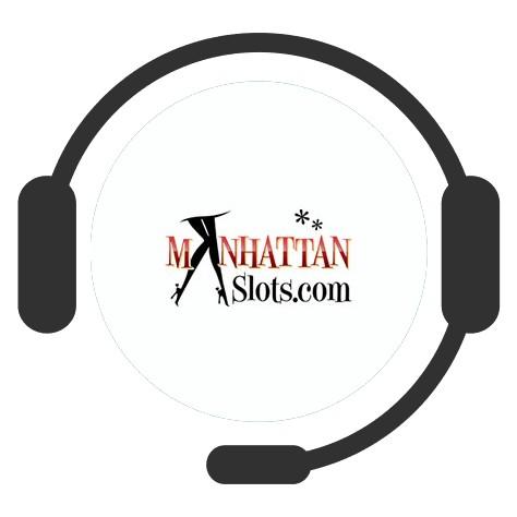 Manhattan Slots Casino - Support