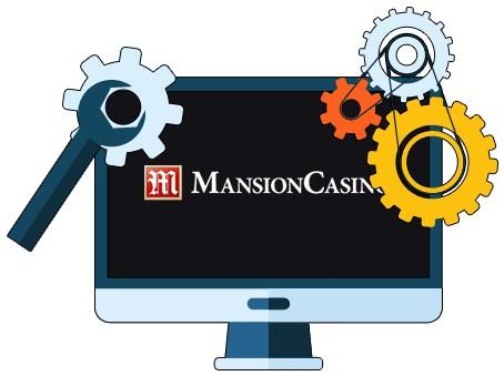 Mansion Casino - Software