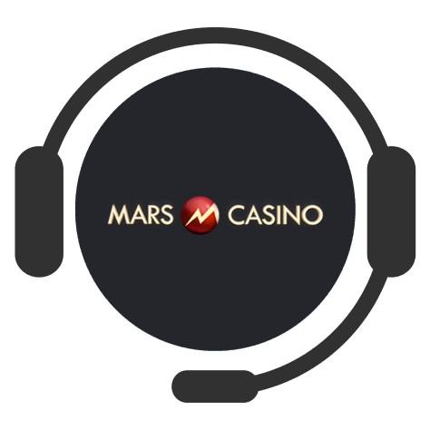 Mars Casino - Support