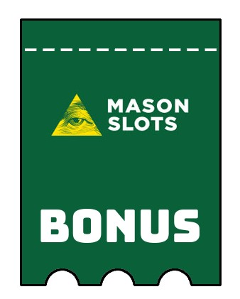Latest bonus spins from Mason Slots