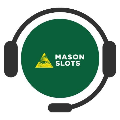 Mason Slots - Support
