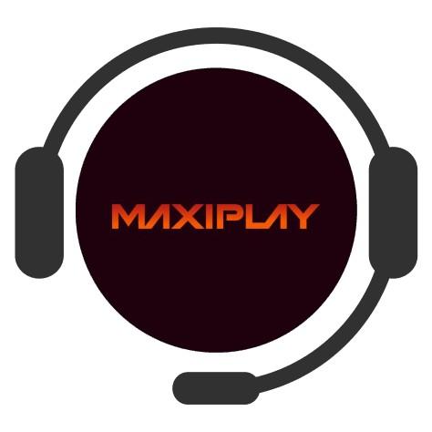 MaxiPlay Casino - Support