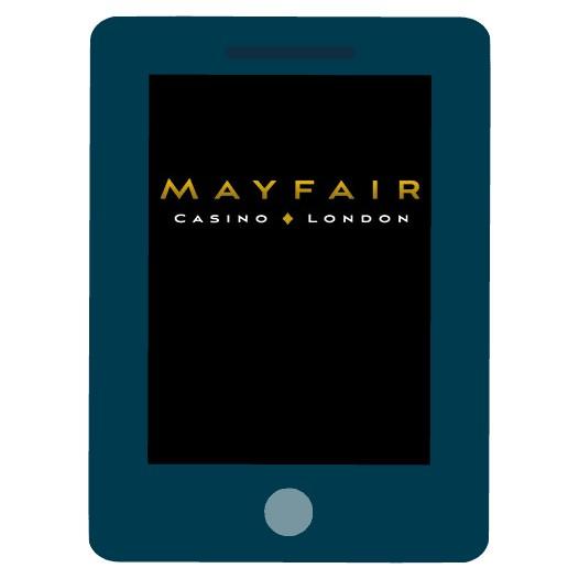 Mayfair Casino - Mobile friendly