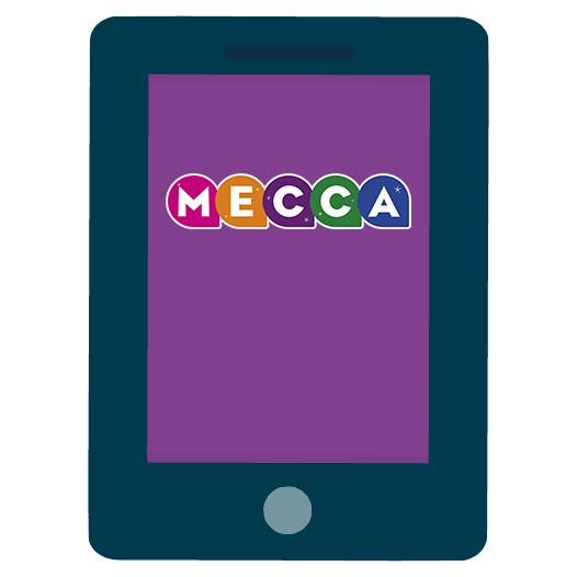 Mecca Bingo Casino - Mobile friendly