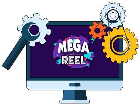 MEGA Reel Casino - Software