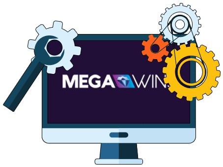 Megawins Casino - Software