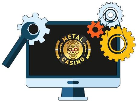 Metal Casino - Software