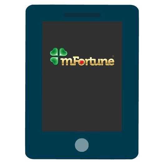 mFortune Casino - Mobile friendly
