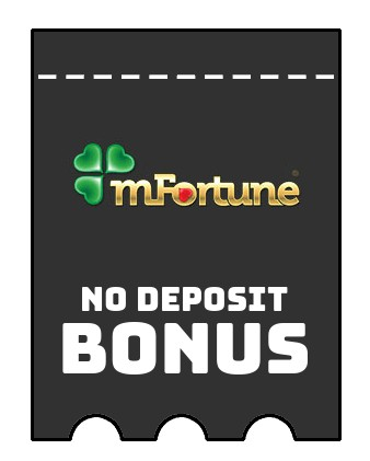 mFortune Casino - no deposit bonus CR