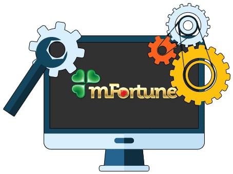 mFortune Casino - Software
