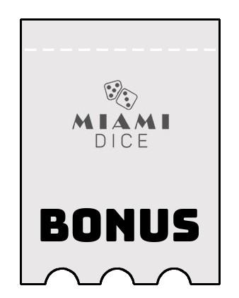 Latest bonus spins from Miami Dice Casino