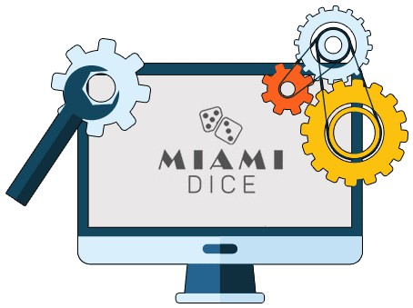 Miami Dice Casino - Software
