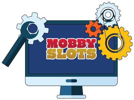 MobbySlots Casino - Software