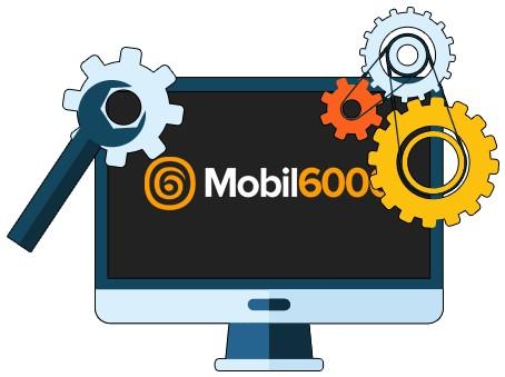 Mobil6000 Casino - Software