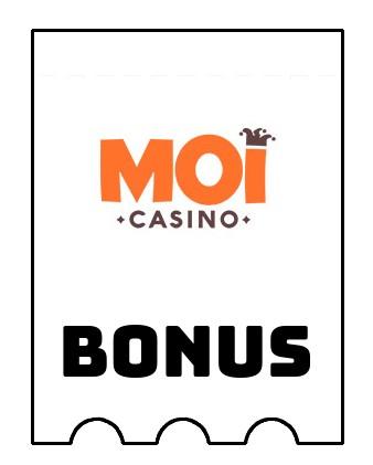 Latest bonus spins from Moi Casino
