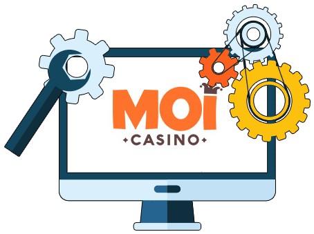 Moi Casino - Software