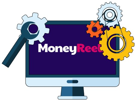 MoneyReels Casino - Software