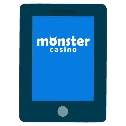 Monster Casino - Mobile friendly