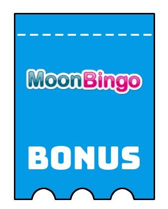 Latest bonus spins from Moon Bingo