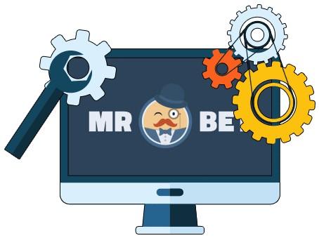 Mr Bet Casino - Software